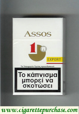 Assos cigarettes with 1 Export