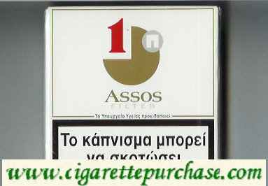 Assos cigarettes with 1 Filter