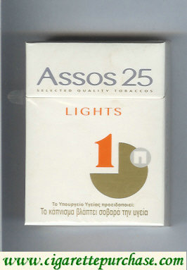 Discount Assos 25 lights cigarettes