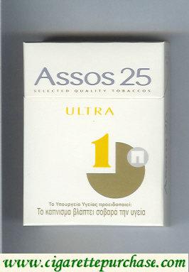 Discount Assos 25 Ultra cigarettes