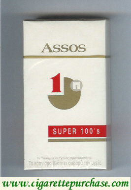 Assos super 100s cigarettes