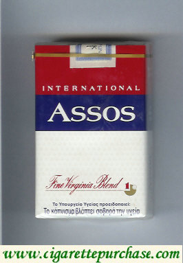 Assos International cigarettes Fine Virginia Blend