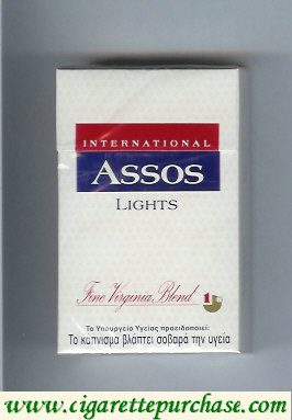 Assos International Lights cigarettes Fine Virginia Blend