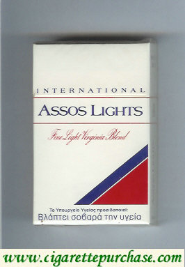 Assos Lights International cigarettes Fine Virginia Blend