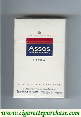 Assos International Ultra cigarettes Fine Virginia Blend