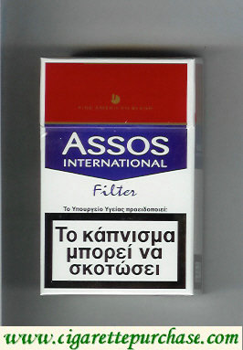 Discount Assos International Filter cigarettes Fine American Blend