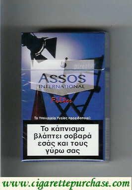 Assos International Filter cigarettes collection version