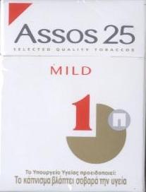 Discount Assos 25 Mild cigarettes