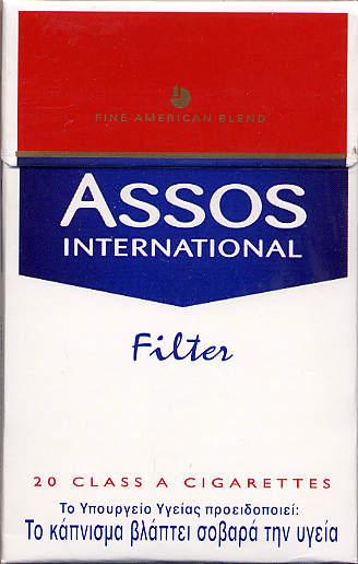 Discount Assos International Filter cigarettes