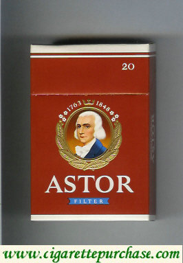 Discount Astor Filter cigarettes 1763 - 1848