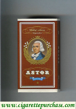 Discount Astor Filter Cigarettes Waldorf Astoria  1763-1848