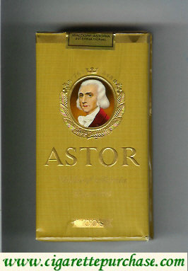 Discount Astor 100s gold cigarettes 1763-1848  Waldorf Astoria