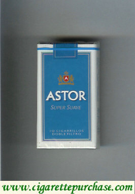 Discount Astor Super Suave cigarettes Doble Filtro