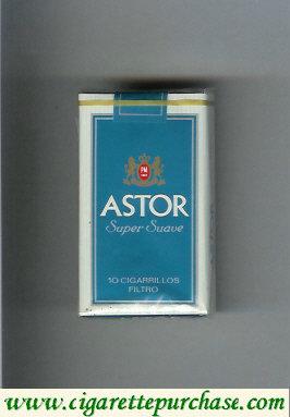 Discount Astor Super Suave Filtro cigarettes