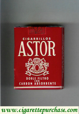 Discount Astor cigarettes Doble Filtro Con Carbon Absorbente