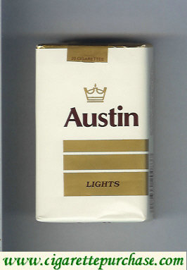 Discount Austin Lights cigarettes with lines