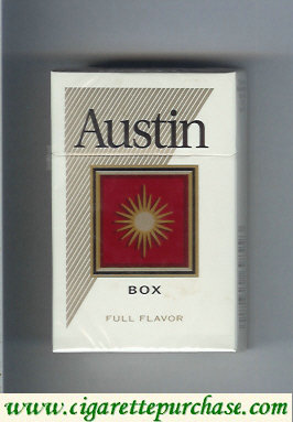 Discount Austin Full Flavor box cigarettes with square