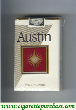 Discount Austin Full Flavor cigarettes with square