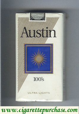 Discount Austin 100s Ultra Lights cigarettes