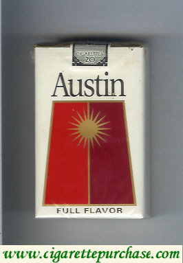 Discount Austin Full Flavor cigarettes soft box