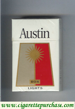 Discount Austin Lights box cigarettes