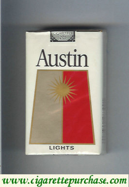 Discount Austin Lights soft box cigarettes