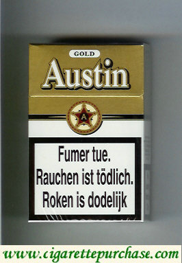 Discount Austin Gold cigarettes