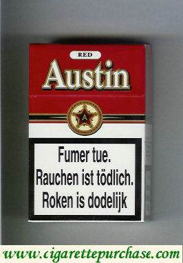 Discount Austin Red cigarettes