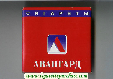 Discount Avangard red cigarettes