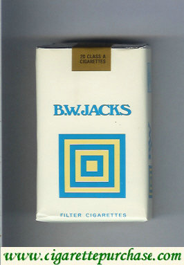 B.W. Jacks cigarettes