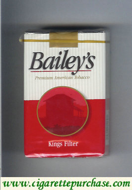 Discount Bailey's Filter Cigarettes
