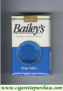 Discount Bailey's kings lights cigarettes