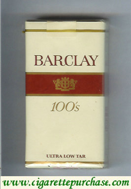 Barclay 100s cigarettes usa