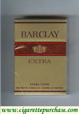 Discount Barclay Extra cigarettes Finland