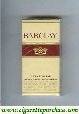 Discount Barclay Filter cigarettes Belgium