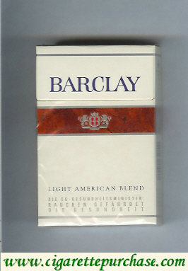 Barclay Filter cigarettes