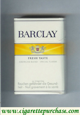 Barclay Fresh Taste cigarettes