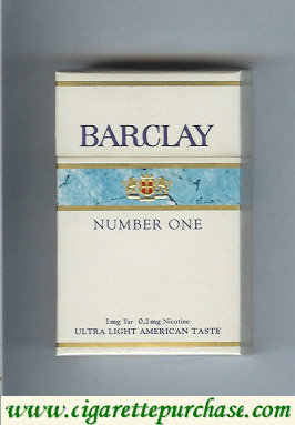 Discount Barclay Number One cigarettes Switzerland
