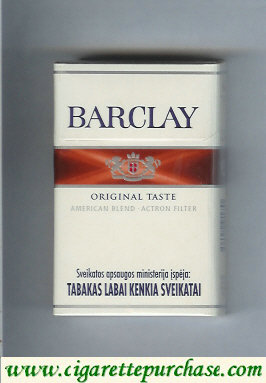 Discount Barclay Original Taste cigarettes