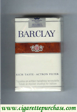 Discount Barclay Rich Taste cigarettes