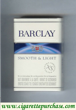 Discount Barclay Smooth and Light cigarettes