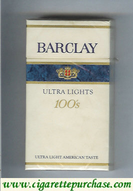 Discount Barclay Ultra Lights 100s cigarerttes