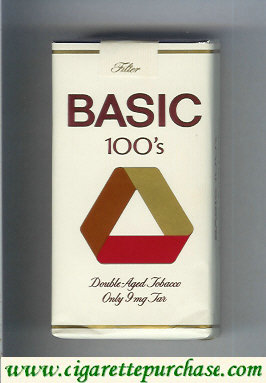 Basic 100s Filter cigarettes Double-Aged Tobacco