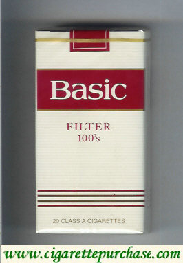 Basic Filter 100s cigarettes soft box