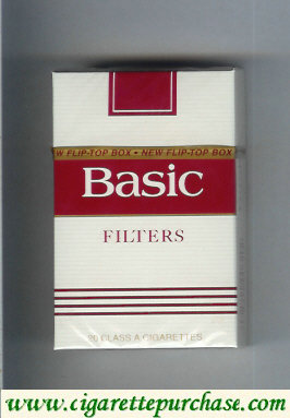 Discount Basic Filter cigarettes hard box
