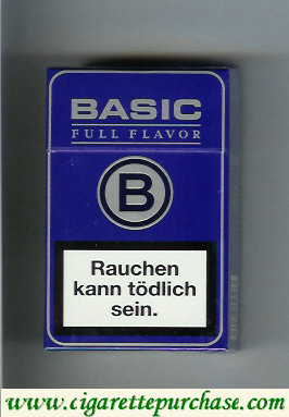 Discount Basic Full Flavor blue cigarettes Germany