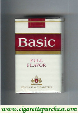 Discount Basic Full Flavor cigarettes soft box