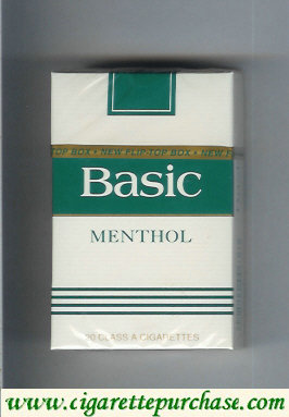 Basic Menthol cigarettes Filter