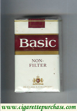 Discount Basic Non-Filter cigarerttes soft box