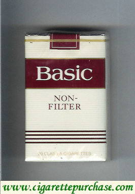 Discount Basic Non-Filter cigarettes